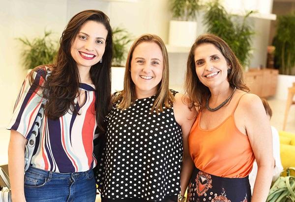 Paula Costa Roberta Nicolau e Isve Campos