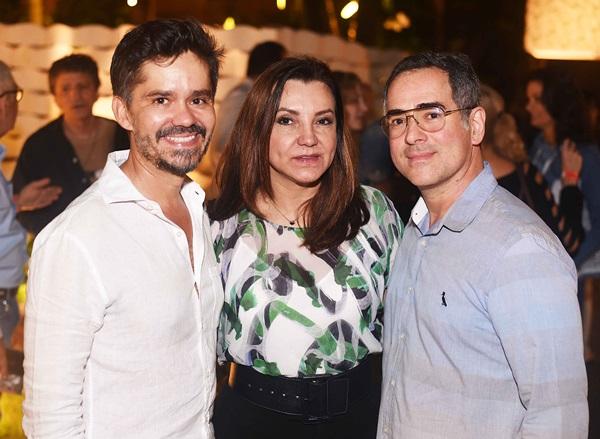 Ricardo Melo, Rosa Maria Tavares e Sergio Canelas