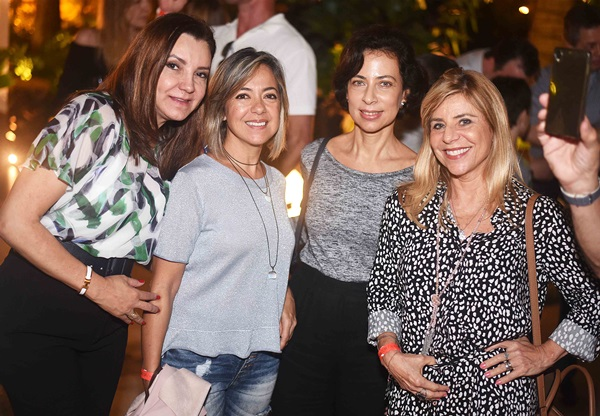 Rosa Maria Tavares, Sandra Roizman, Gisele Carvalho e Aida Gorenstein