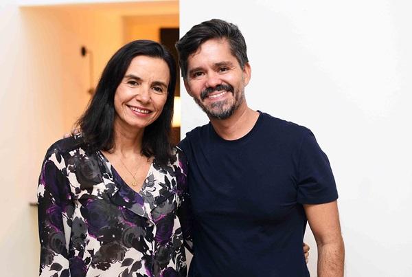Vera Rebello e Ricardo Melo