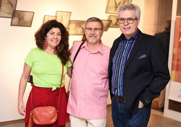 Ana Borelli Augusto Ivan e Vicente Giffoni
