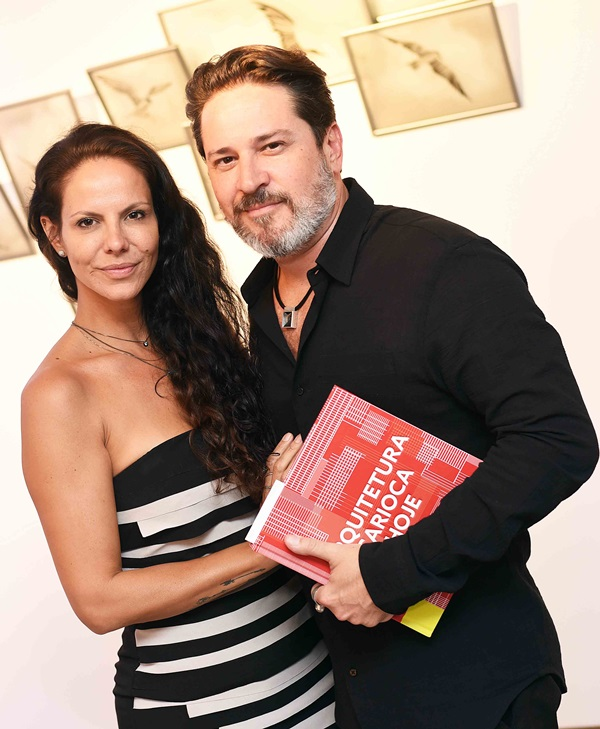 Carol Vaz e Celso Rayol