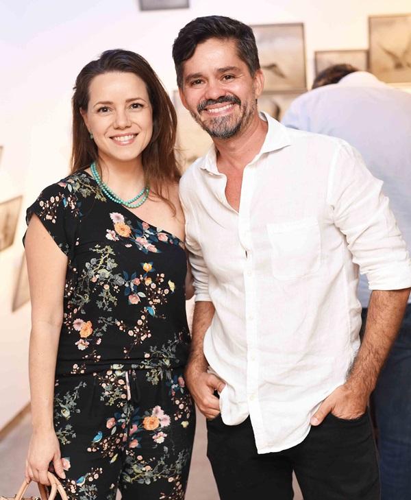 Roberta Vieira e Ricardo Melo