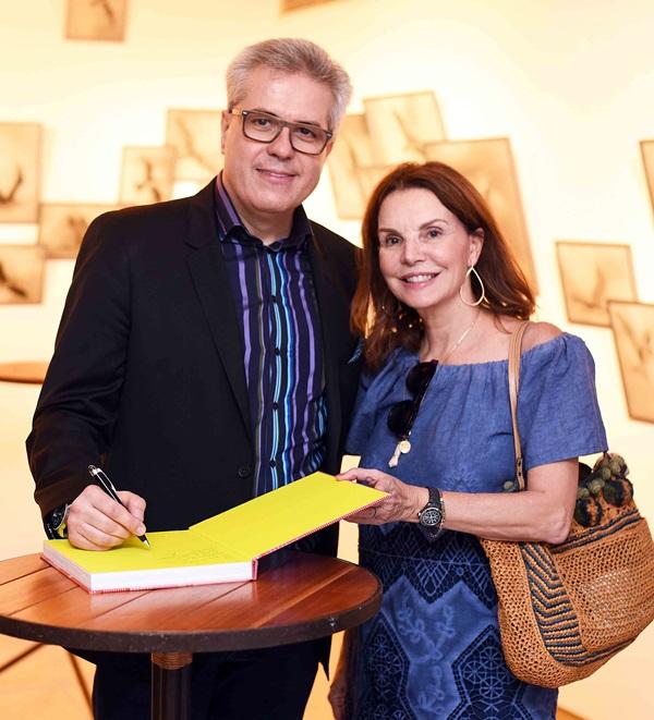 Vicente Giffoni e Patricia Mayer