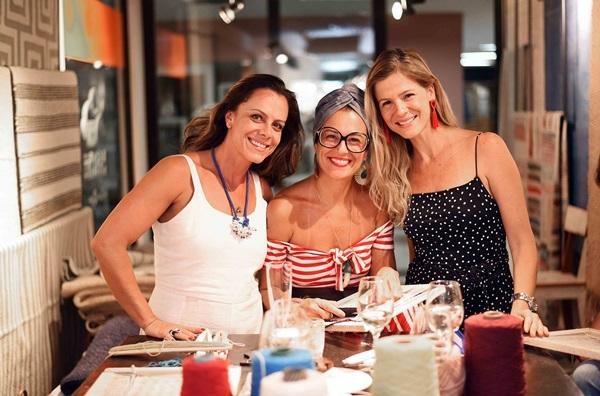Rafaela Lucena, Simone Bacellar e Larissa Allemand