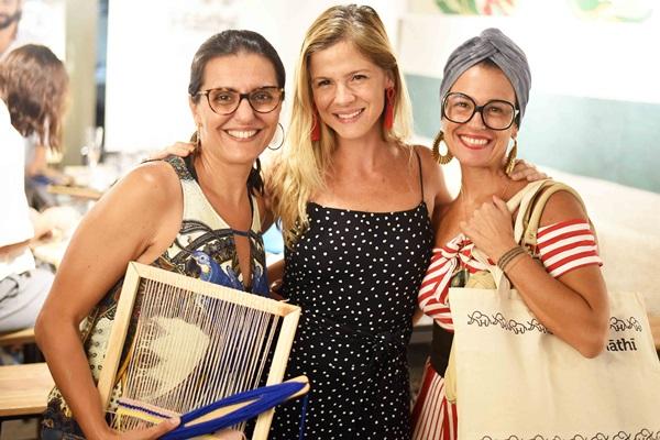 Silvia Girâo, Larissa Allemand e Simone Bacellar