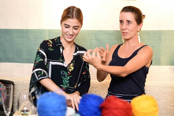 Valentina Saldanha e Maria Eduarda Gomide