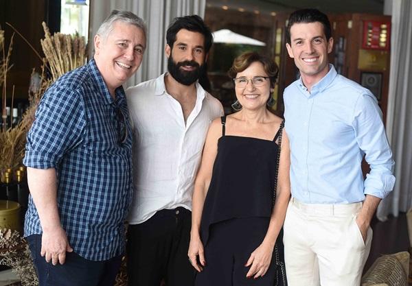 Adolfo Fuzinatto David Silva Eliane Alhadas e Felipe Corradi