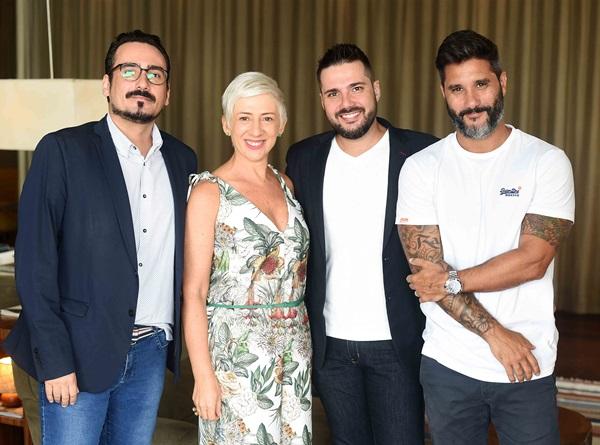 Fabio Bouillet, Cristina Cortes e Rodrigo Jorge