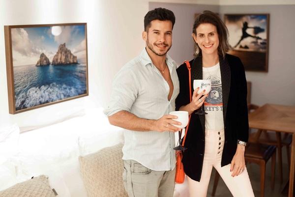 Carlos Carvalho e Clarice Tenenbaum