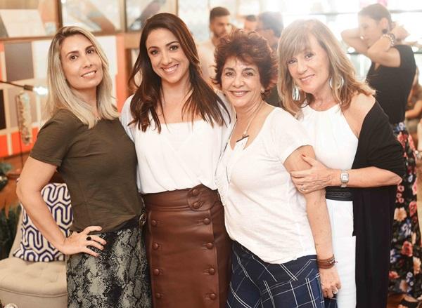 Flavia Coelho, Monica Kochen Rachel Molinaro e Eva Taquechel
