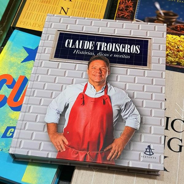 Livro CLAUDE TROISGROS