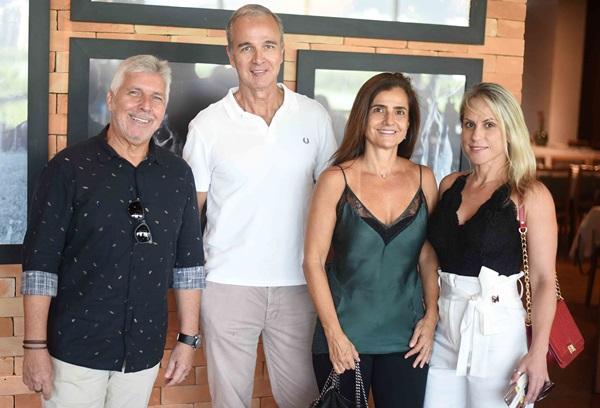 Marcio Dowsley, Jorge Delmas, Anna Fadul e Fernanda Vieira