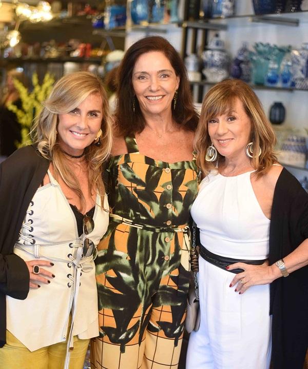 Patricia Hal,l Beth Kalache e Eva Taquechel